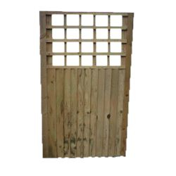 Closeboard Gate WithTrellis
