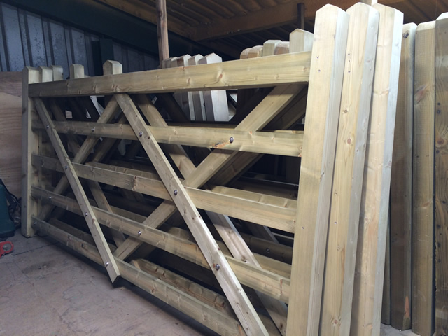 Sawn Field Gates