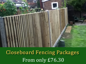 Closeboard Fencing Packages