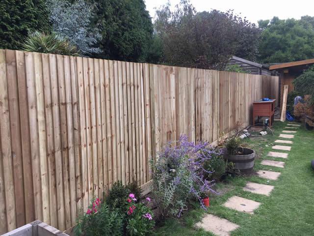 Garden Fencing General Picture