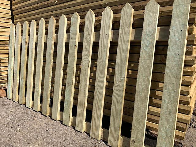 6ft Palisade Fence Panels