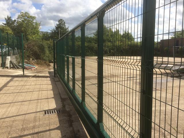 Bespoke Industrial Gate Installation