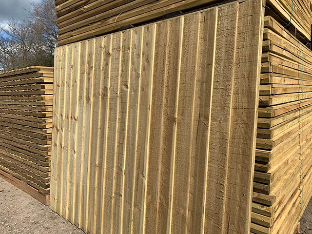 Closeboard Fence Panels in Stock
