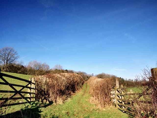 Country Footpath Fencing